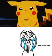 Funny Sad Meme - pikachu doesn t want to fight his brother pokemon meme