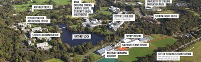 Stirling Scotland Map University Of Stirling Cdc
