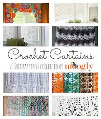 Crochet Kitchen Curtains by 103 Best Crochet Doilies U0026 Curtains Images On Pinterest Crochet