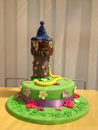 disney rapunzel tangled tower birthday cake disney every day