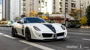 mansory ferrari 599 photos l u0027une des 5 ferrari 599 stallone est à paris et à vendre