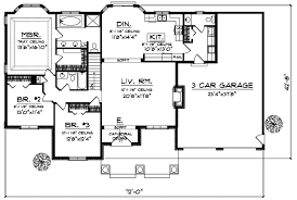 craftsman style house floor plans bungalow style house plans plan 7 248