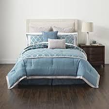 Cannon Bedding Sets Cannon 8 Jacquard Frete Comforter Set Soft Blue Home