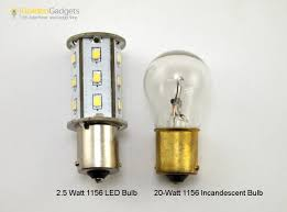 Led Light Bulb Vs Incandescent by 2 Pack Ba15s 1141 1156 Rv Led Bulb Replacement 18 Led Warm