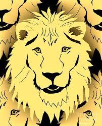 lion mask lion mask digital by barbara moignard