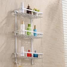 furniture home tier storage shelf bathroom towel aluminium font b