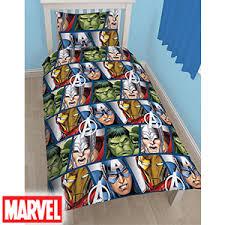 Postman Pat Duvet Set Buy Marvel Avengers Assemble Single Duvet Set At Home Bargains