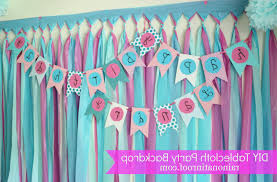 home interiors home parties creative background decoration for birthday party at home home
