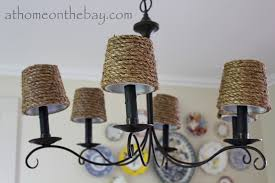 chandelier shades diy pottery barn inspired chandelier shades