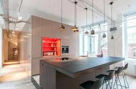 cuisine avec bar table ilot cuisine bar plan cuisine avec ilot central 7 73 id233es de