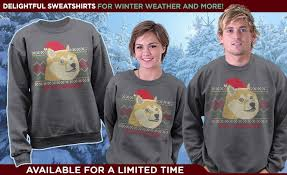 doge sweater i need that