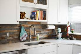 Backsplash In The Kitchen Reclaimed Wood Backsplash Tiles For Kitchens U0026 Bathrooms