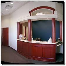 Building A Reception Desk Builders Guild Inc Office Reception Desk Millwork