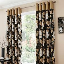 Chocolate Curtains Eyelet Eyelet Curtains Swastik Home Decor