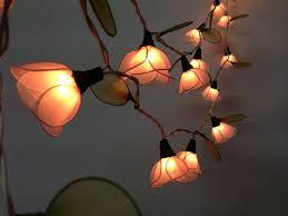 String Of Flower Lights by 2014 Diy Outdoor Lightings 20 Bulbs Pale Pink Flower String