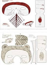 267 masque tuto images carnivals printable