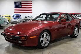 944 porsche for sale burgundy metallic 1983 porsche 944 for sale mcg marketplace