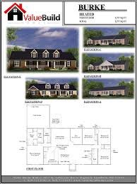 burke house plan custom floor plans by value build homes home