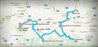 Std Map 276 Km 7 Coups Die Route Der Pfarrhaus Einbrecher