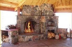 Pizza Oven Outdoor Fireplace by Outdoor Fireplace U0026 Pizza Oven Designs Oven That Echos The