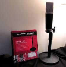 jamstands desktop microphone stand review best desktop mic stand