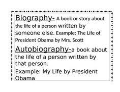 biography definition teaching second graders to write a biography report freebie