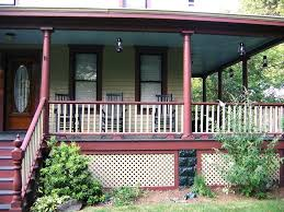 Porch Floor Paint Ideas by Wood Deck Front Porch Ideas Home Design Small Screened Floor Paint