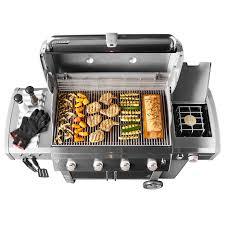 weber outdoork che genesis ii lx e 440 gas grill weber