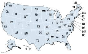 us state abbreviations map a closer look at who benefits from snap state by state fact