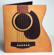 this would be an awesome card for clint guitar birthday card