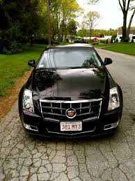2011 cadillac cts grille painted stock grill black