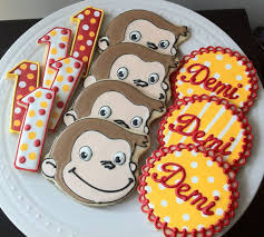 Curious George Centerpieces by Book Theme Baby Shower Decorations