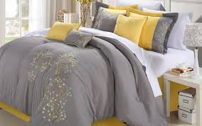 bedding set black and grey bedding wonderful yellow grey and