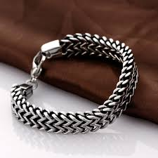 bracelet snake chain images Mens silver plated snake chain bracelet 4ever co jewelry jpg
