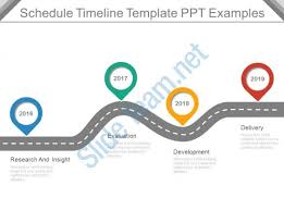 ppt timeline template schedule timeline template ppt exles powerpoint templates