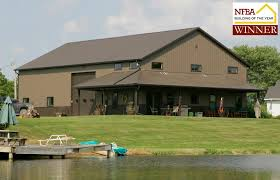 Custom Pole Barn Homes Shome U003d Shop Home Greinerbuildings Com Pole Building Garage