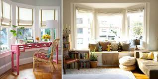 Bay Window Roller Blinds Ideas For Treating A Bay Window Behome Blog