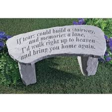 memorial benches decorative memorial benches 102206 decorative accessories at