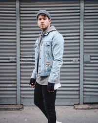 """5 cách phá 'i Ä'á """" vá ›i áo khoác jeans nam thá i thÆ°á £ng"""