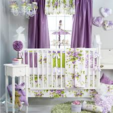 Floral Crib Bedding Sets Purple Crib Bedding Sets For All Modern Home Designs