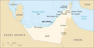 rub al khali map image gallery of rub al khali desert on map