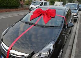 large gift bow car bow large gift bow handmade with superfast