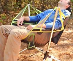 u0026 swinging camp chair