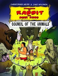 adventures of rabbit adventures of rabbit and paws council of the animals