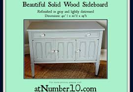 Solid Wood Buffet And Hutch Cabinet Distressed Wood Sideboard Beguiling Distressed Wooden
