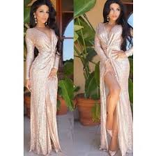 gold maxi dress gold plain sequin v neck knot sleeve maxi dress