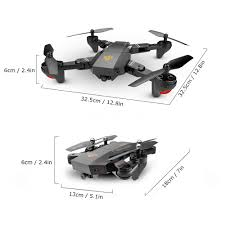 Radio Control Helicopters With Camera Brand New Visuo Xs809hw Wifi 2mp Hd Camera Foldable 2 4g 6 Axis Rc