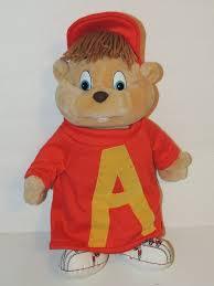 alvin chipmunks dayton hudson plush dolls alvin