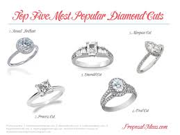 most popular engagement rings the top five most popular engagement ring diamond shapes