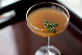 apple martini mix apple thyme u2014 spirited alchemy